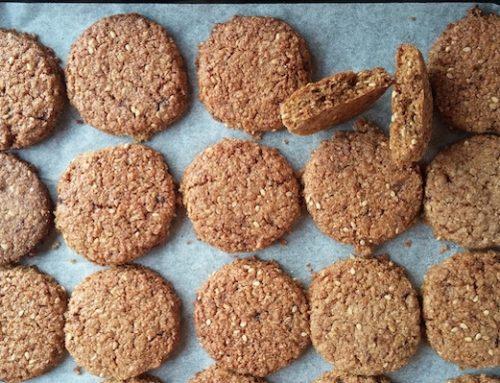 Biscotti integrali alla crusca – Ricetta