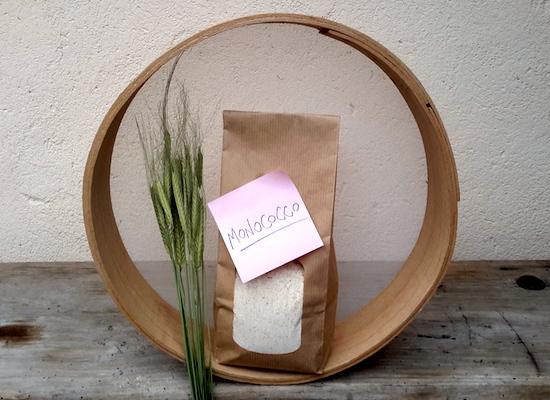Farina di grani teneri antichi. Farina di farro monococco