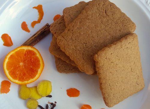 Biscotti caserecci. Pan di zenzero e farina di grani antichi