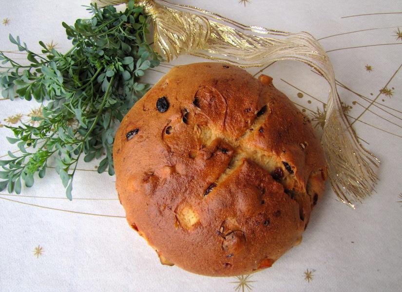 pandolce piemontese con farina di grani antichi