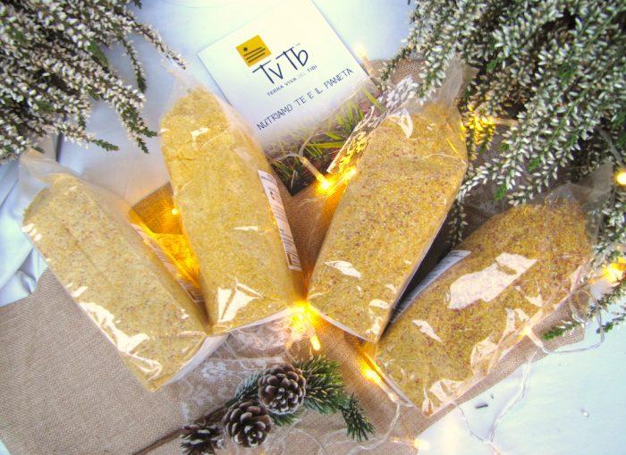 Confezione regalo - sfumature di polenta